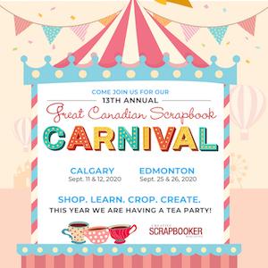 Great Canadian Scrapbook Carnival 2020